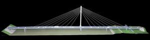 óriás híd makett